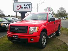 FORD F-150 REG CAB STX 4X4, AUTOCHECK CERTIFIED, RUNNING BOARDS, TOW PKG, BLUETOOTH, ONLY 68K MILES, SHARP!! 2013