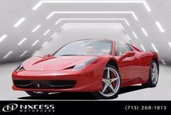 Ferrari 458 Italia Spyder Only 5K Miles 2013