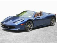 Ferrari 458 Spider 2 Door Convertible (NY Atelier Car) 2013