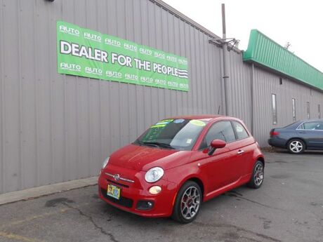 2013 Fiat 500 Sport Hatchback Spokane Valley WA