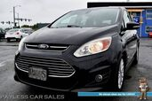 2013 Ford C-Max Energi SEL / Automatic / Auto Start / Heated Leather Seats / Bluetooth / Rear Parking Aid / Cruise Control / Keyless Entry & Start / Aluminum Wheels / 44 MPG