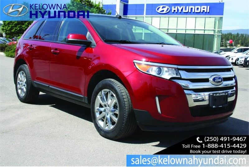 2013 Ford Edge Sel One Owner Navigation Leather Sunroof