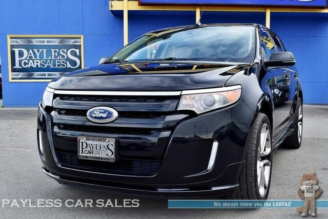 Ford Edge Sport Awd Heated Leather Seats Navigation Panoramic Sunroof