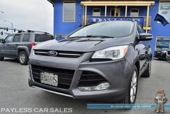 2013_Ford_Escape_SEL / AWD / 2.0L Ecoboost / Power & Heated Leather Seats / Panoramic Sunroof / Sony Speakers / Auto Start / Microsoft Sync Bluetooth / Push Button Start / Back Up Sensors / 28 MPG / 1-Owner_ Anchorage AK