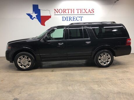 2013 Ford Expedition EL Limited Leather GPS Camera Power Hatch Power 3rd Row Mansfield TX