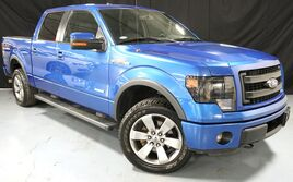 Ford F-150 FX4 4WD SuperCrew / Luxury Pkg/ Rear Camera/ Navigation/ Moonroof 2013