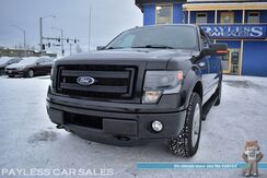 2013_Ford_F-150_FX4 / 4X4 / 3.5L Ecoboost / Crew Cab / Heated & Cooled Leather Seats / Navigation / Sunroof / Auto Start / Sony Speakers / Bluetooth / Back Up Camera / HID Headlights / Bed Liner / Tow Pkg / 1-Owner_ Anchorage AK