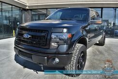 2013_Ford_F-150_FX4 / 4X4 / 5.0L V8 / Crew Cab / Auto Start / Heated & Cooled Leather Seats / Navigation / Sony Speakers / Sunroof / Bluetooth / Back Up Camera / Tonneau Cover / Tow Pkg_ Anchorage AK