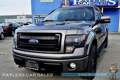 2013_Ford_F-150_FX4 / 4X4 / 6.2L V8 / Crew Cab / Heated & Cooled Leather Seats / Sunroof / Navigation / Sony Speakers / Auto Start / Bluetooth / Back Up Camera / Bed Liner / Tow Pkg / 1-Owner_ Anchorage AK