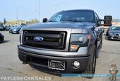 2013 Ford F-150 FX4 / 4X4 / Crew Cab /Auto Start / Heated & Ventilated Leather Seats / Navigation / Sunroof / Sony Speakers / Bed Liner / Tow Pkg / Block Heater / 1-Owner