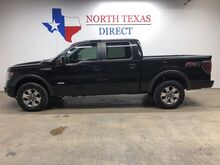 2013_Ford_F-150_FX4 4x4 Ecoboost Gps Navi Leather Heat & AC Seats Back Up Cam_ Mansfield TX