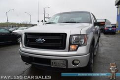 2013_Ford_F-150_FX4 / Off Road Pkg / 4X4 / 3.5L V6 Ecoboost / Crew Cab / Auto Start / Power Driver's Seat / Microsoft Sync Bluetooth / Cruise Control / Bed Liner / Running Boards / Block Heater / Bed Liner / Low Miles / Tow Pkg_ Anchorage AK