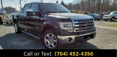 2013 Ford F-150 King Ranch SuperCrew 6.5-ft. Bed 4WD Charlotte and Monroe NC