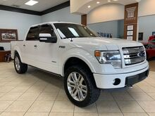 2013_Ford_F-150_LIMITED 4WD PEARL WHITE AND RED ROSSO INTERIOR_ Charlotte NC