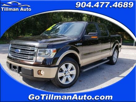 2013_Ford_F-150_Lariat SuperCrew 5.5-ft. Bed 2WD_ Jacksonville FL