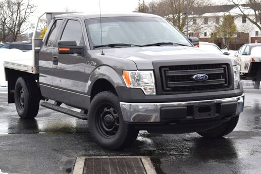 2013 Ford F-150 STX 4x4 with Aluminum Flatbed Easton PA