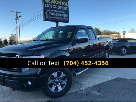2013 Ford F-150 STX SuperCab 6.5-ft. Bed 4WD Charlotte and Monroe NC