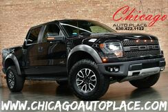 2013_Ford_F-150_SVT Raptor - 4WD Super Crew Cab 6.2L V8 ENGINE NAVIGATION BACKUP CAMERA + FRONT OFF ROAD CAMERA BLACK LEATHER HEATED/COOLED SEATS XENONS_ Bensenville IL