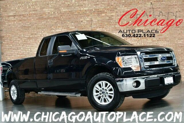 2013 Ford F-150 XLT SUPERCAB w/HD Payload Pkg - 5.0L V8 ENGINE REAR WHEEL DRIVE PREMIUM WHEELS FOG LAMPS MICROSOFT SYNC BLUETOOTH Bensenville IL