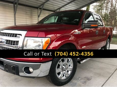 2013 Ford F-150 XLT SuperCrew 5.5-ft. Bed 2WD Charlotte and Monroe NC