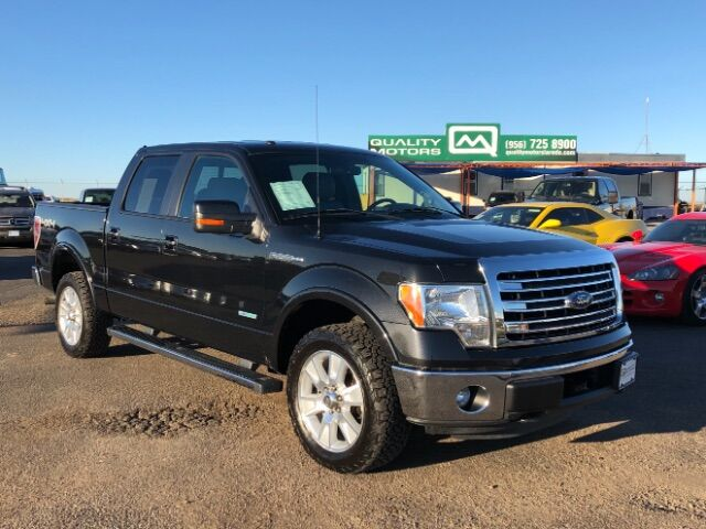 2013 Ford F-150 XLT SuperCrew 5.5-ft. Bed 4WD Laredo TX
