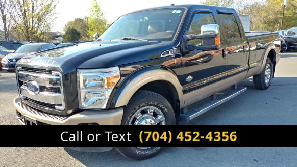 2013 Ford F-350 SD King Ranch Crew Cab Long Bed 2WD Charlotte and Monroe NC