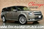 2013 Ford Flex Limited AWD - 3.5L TI-VCT V6 ENGINE ALL WHEEL DRIVE NAVIGATION BACKUP CAMERA BLACK LEATHER HEATED SEATS KEYLESS GO 3RD ROW SEATS XENONS