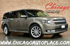 2013_Ford_Flex_Limited AWD - 3.5L TI-VCT V6 ENGINE ALL WHEEL DRIVE NAVIGATION BACKUP CAMERA BLACK LEATHER HEATED SEATS KEYLESS GO 3RD ROW SEATS XENONS_ Bensenville IL