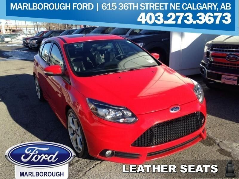 2013 Ford Focus ST  - Leather Seats -  Bluetooth Calgary AB