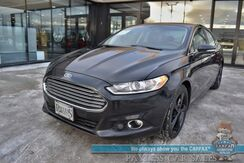 2013_Ford_Fusion_SE / 6-Spd Manual / Heated Leather Seats / Sunroof / Microsoft Sync Bluetooth / Cruise Control / 36 MPG_ Anchorage AK