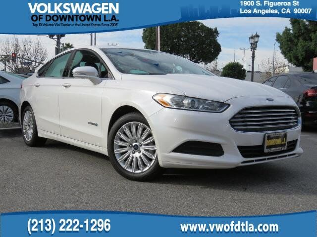 2017 Ford Fusion Se Hybrid Los Angeles Ca