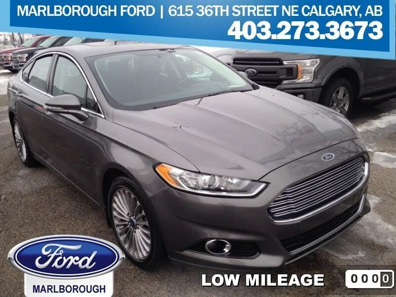 2013 Ford Fusion Titanium  - Leather Seats -  Bluetooth Calgary AB