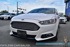 2013_Ford_Fusion_Titanium / AWD / 2.0L Ecoboost / Power & Heated Leather Seats / Auto Start / Active Cruise Control / Blind Spot & Lane Departure Warning / Sony Speakers / Microsoft Sync Bluetooth / Back-Up Camera / 31 MPG / Only 44K Miles_ Anchorage AK