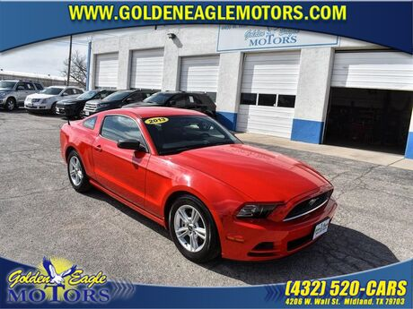 2013 Ford Mustang 2DR CPE V6 Midland TX