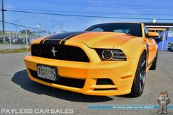 2013_Ford_Mustang_Boss 302 / 6-Spd Manual / 5.0L V8 / RECARO Race Seats / Bluetooth / Flowmaster Exhaust / Short Throw Shifter / Steeda Chassis Brace / SVE 19in Wheels / NITTO NT555 Tires / ONLY 12K MILES_ Anchorage AK