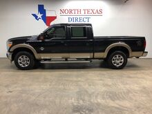 2013_Ford_Super Duty F-250 SRW_Lariat 4x4 Diesel Gps Navi Heat Sc Leather Short Bed 5th Wheel_ Mansfield TX