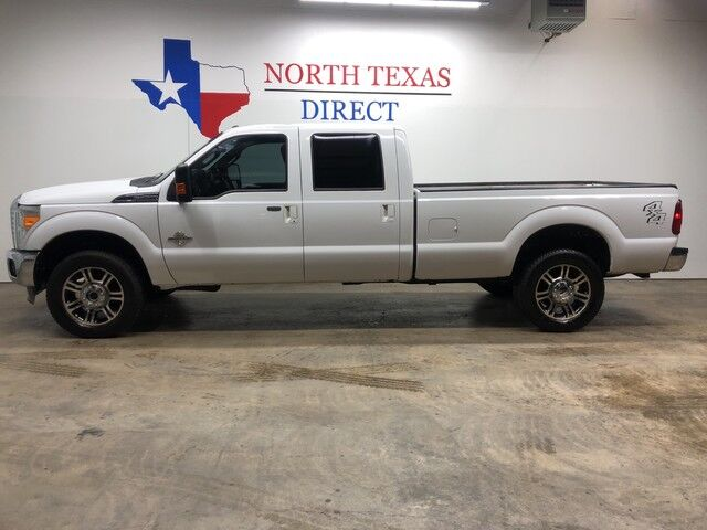 2013 Ford Super Duty F-350 SRW Lariat 4x4 PowerStroke Diesel Crew Heated Leather Mansfield TX
