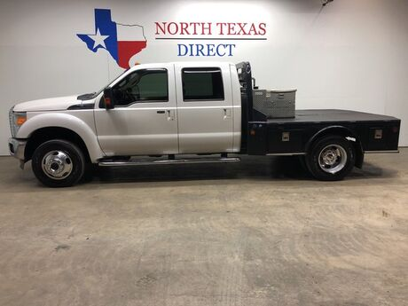 2013 Ford Super Duty F-450 DRW Lariat 4x4 Diesel Skirted Flat Bed Gps Navi Camera Sunroof Mansfield TX
