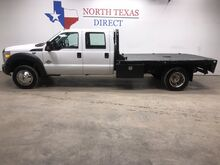 2013_Ford_Super Duty F-450 DRW_XL Diesel Dually Crew Flatbed 5th Wheel 6 Passenger_ Mansfield TX