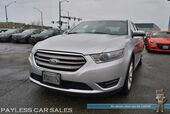 2013 Ford Taurus SEL / AWD / Power & Heated Leather Seats / Sunroof / Navigation / Auto Start / Microsoft Sync Bluetooth / Back Up Camera / Keyless Start / Cruise Control / HID Headlights / 19in Alloy Wheels / Low Miles