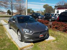 2013_HYUNDAI_GENESIS_R SPEC COUPE, WARRANTY, MANUAL, LEATHER, SAT RADIO, BLUETOOTH, AUX PORT, USB PORT, A/C, FOG LAMPS!!!_ Norfolk VA