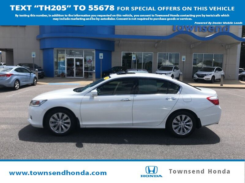 2013 Honda Accord Sedan Touring 3.5L V6 Tuscaloosa AL
