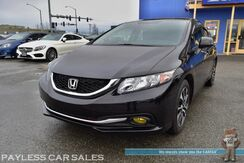 2013_Honda_Civic_EX / Automatic / Viper Auto Start / Sunroof / Bluetooth / Back-Up Camera / Aftermarket Exhaust / Aftermarket Headers / Carbon Fiber Air Intake / Low Miles / 39 MPG_ Anchorage AK