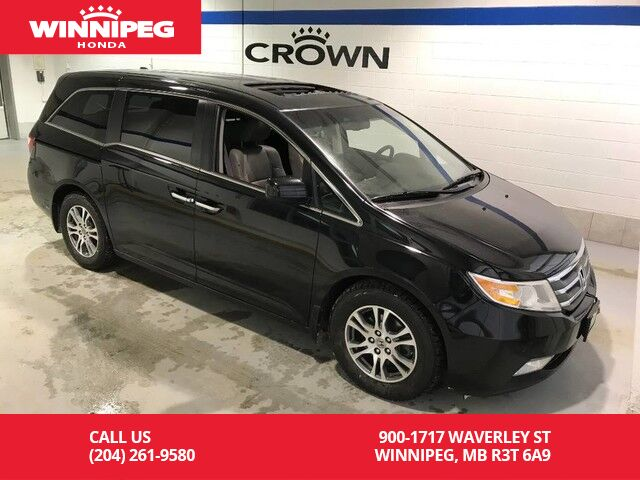 2013 Honda Odyssey Ex L W Res Leather Sunroof Power Doors