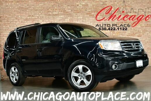 2013 Honda Pilot EX-L - 3.5L I-VTEC V6 4WD SUNROOF GRAY LEATHER HEATED SEATS 3RD ROW BACKUP CAMERA Bensenville IL