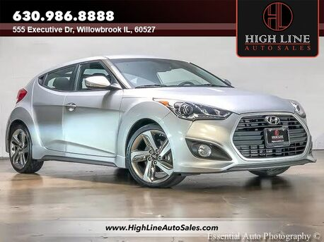2013_Hyundai_Veloster_Turbo w/Black Int_ Willowbrook IL