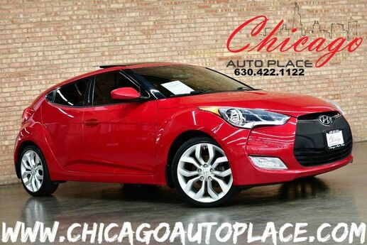 2013 Hyundai Veloster w/Gray Int - 1 OWNER PANO ROOF DIMENSION PREMIUM AUDIO BLUETOOTH CONNECTIVITY PREMIUM ALLOY WHEELS Bensenville IL