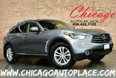 2013 INFINITI FX37 3.7L DOHC V6 ENGINE ALL WHEEL DRIVE NAVIGATION TOP VIEW CAMERAS KEYLESS GO BLACK LEATHER HEATED SEATS SUNROOF XENONS