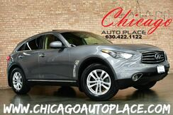 2013_INFINITI_FX37_AWD - 3.7L V6 ENGINE BLACK LEATHER HEATED SEATS BACKUP CAMERA SUNROOF POWER LIFTGATE XENONS_ Bensenville IL