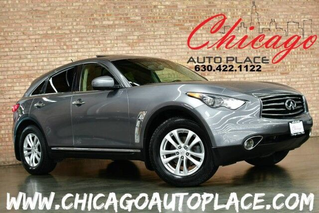 2013 INFINITI FX37 AWD - 3.7L V6 ENGINE BLACK LEATHER HEATED SEATS BACKUP CAMERA SUNROOF POWER LIFTGATE XENONS Bensenville IL